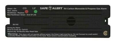 Safe-T-Alert 35-741-BL Black Surface Mount Propane/Carbon Monoxide