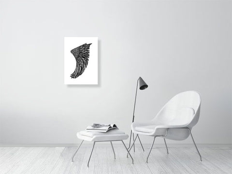 Image of A2 Wing Fin Giclée Surf Art Print - Limited Edition 50