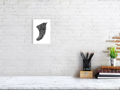 A5 Wing Fin Giclée Surf Art Print - Limited Edition 50