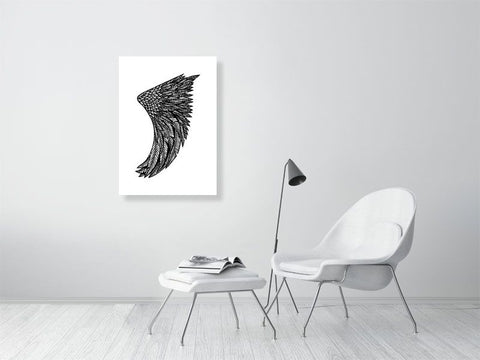 Image of A1 Wing Fin Giclée Surf Art Print - Limited Edition 50