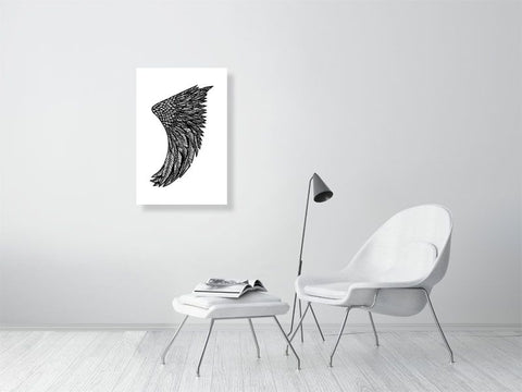 "Image of 20"" x 30"" Wing Fin Giclée Surf Art Print - Limited Edition 50"