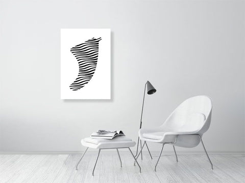 A1 Swell Illusion Fin Giclée Surf Art Print - Limited Edition 50