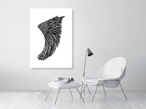 A0 Wing Fin Giclée Surf Art Print - Limited Edition 50