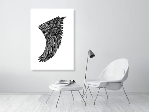 Image of A0 Wing Fin Giclée Surf Art Print - Limited Edition 50