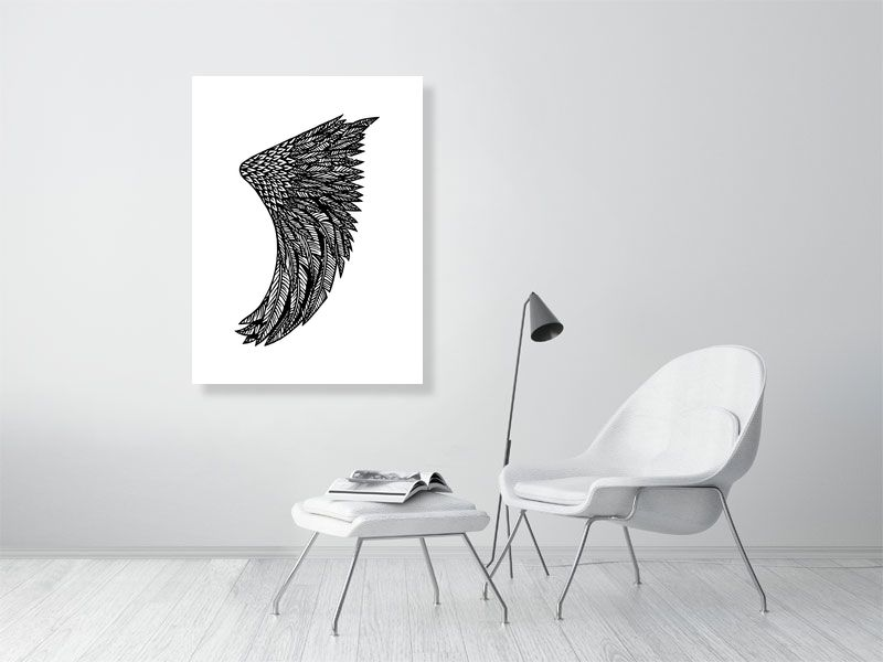 "30"" x 40"" Wing Fin Giclée Surf Art Print - Limited Edition 50"