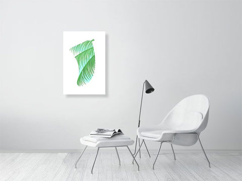 "Image of 20"" x 30"" Three Palms Fin Giclée Surf Art Print - Limited Edition 50"