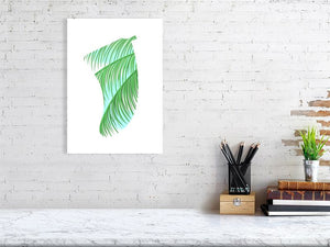A3 Three Palms Fin Giclée Surf Art Print - Limited Edition 50