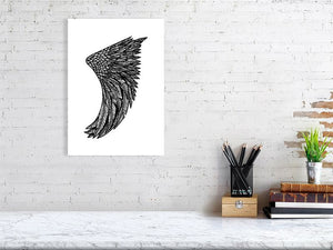 A3 Wing Fin Giclée Surf Art Print - Limited Edition 50