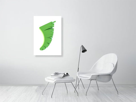 Image of A1 Banana Leaf Fin Giclée Surf Art Print - Limited Edition 50