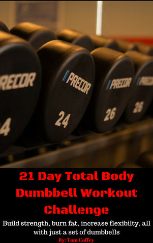 21 Day Total Body Dumbbell Workout Challenge