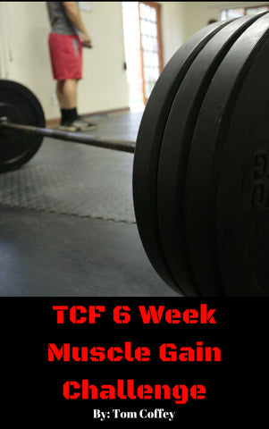 Six Week Muscle Gain Challenge (e-book)
