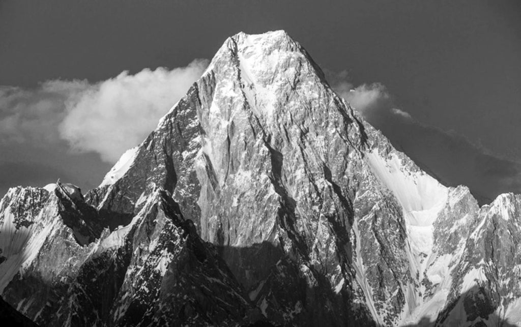Gasherbrum IV, Baltoro Glacier, Pakistan, Art of freedom