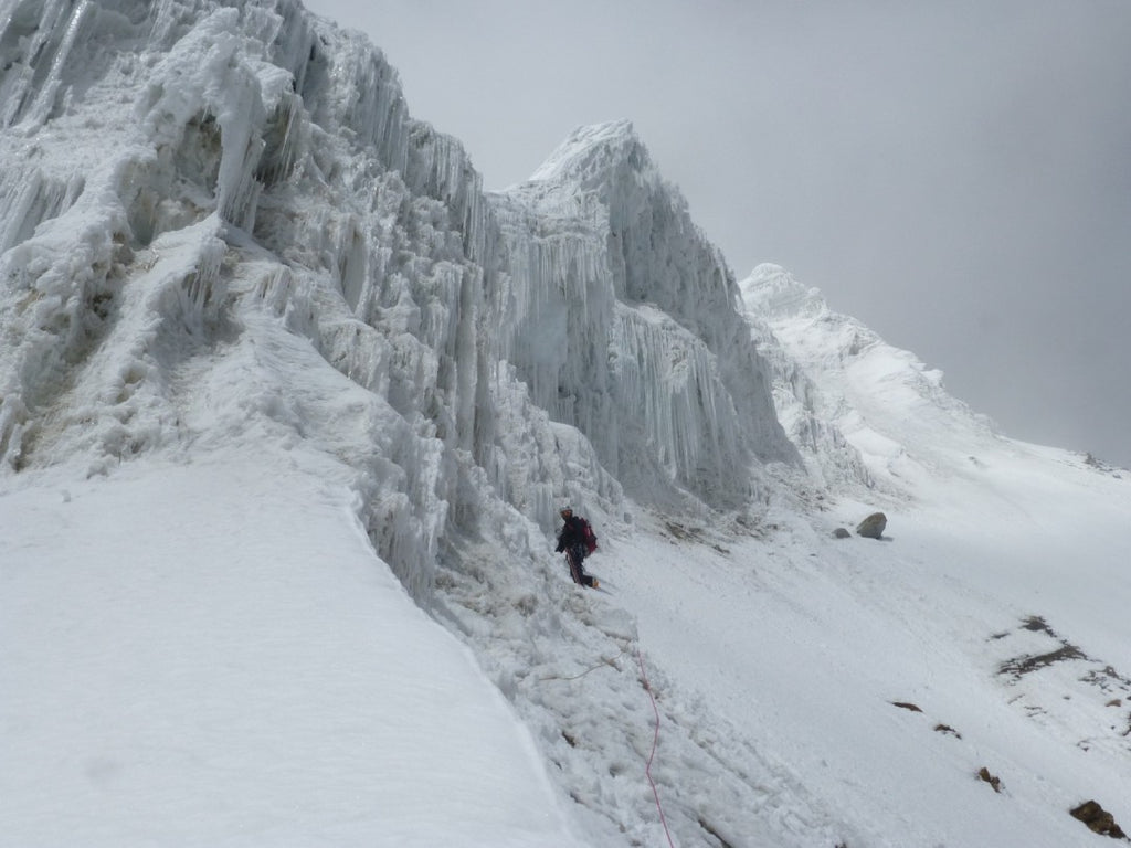nanda devie, east, north east ridge, climbing