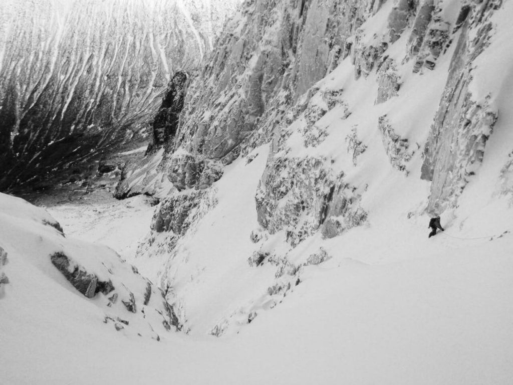 number three gully buttress, ben nevis, scotland