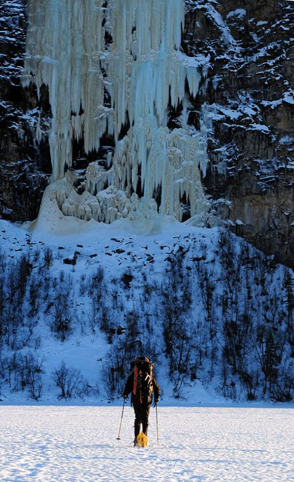 flagbekkan, lyngen peninsula, norway, ice climbing, photography