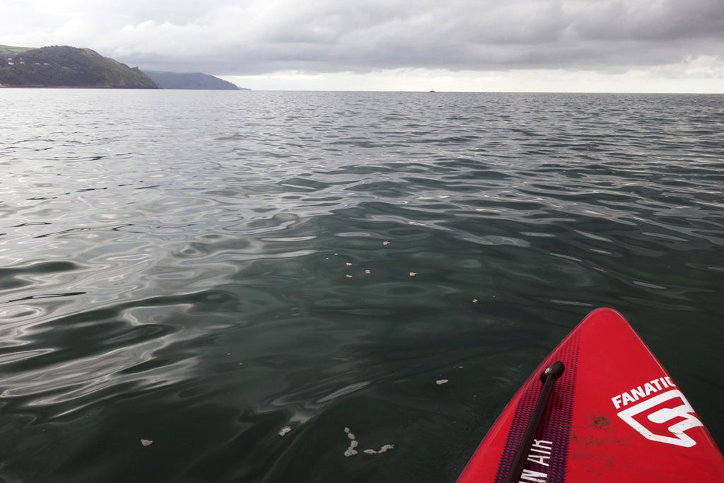 Bull Point, Exmoor Coast, England, kayak