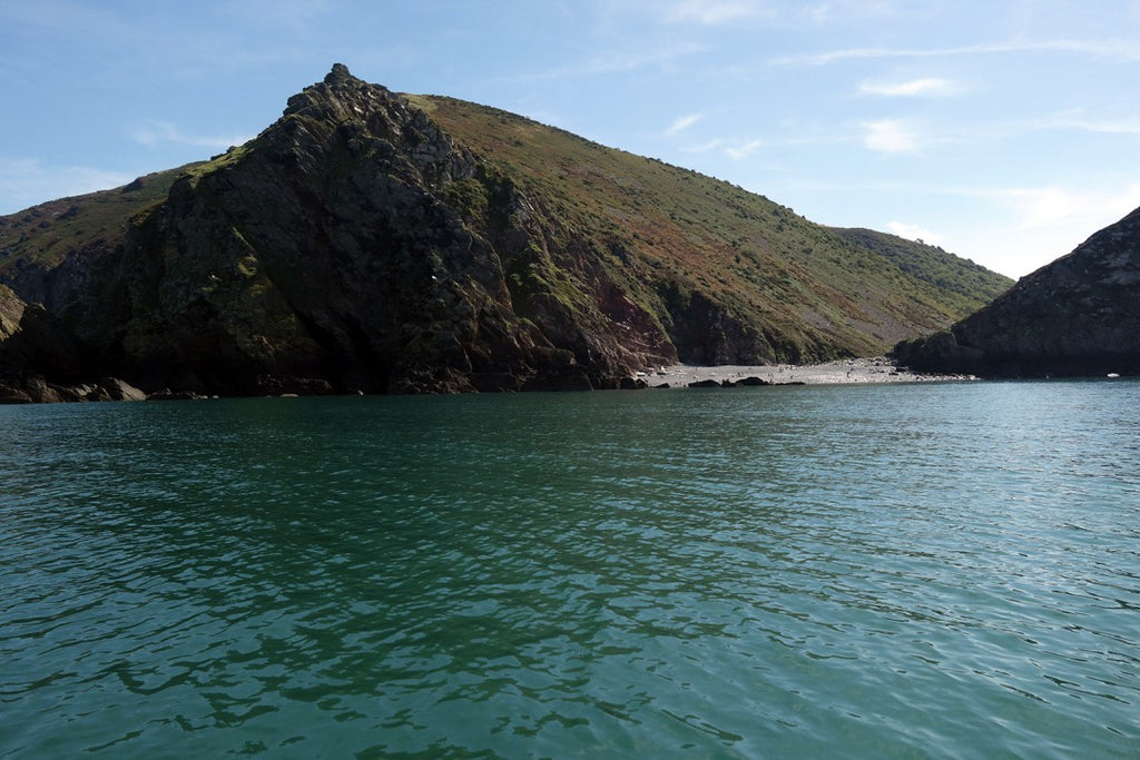Heddon's Mouth, remote beach, Exmoor Coast, England