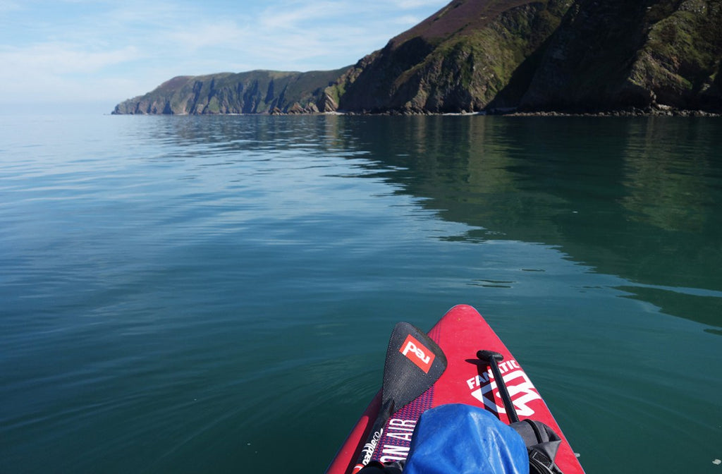 Great Hangman, Heddon's Mouth, Exmoor Coast, Kayak
