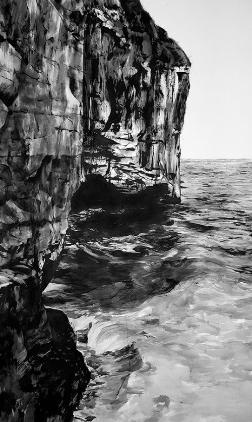 dancing ledge, swanage, england, art