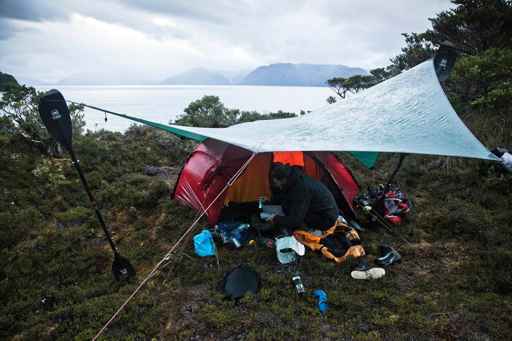 camping, sea kayak, adventure, patagonia, stay dry