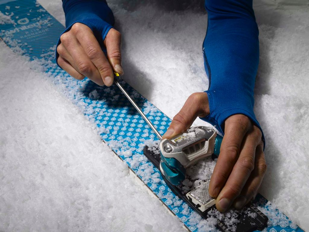 erling, ski repairing, adventure, photography