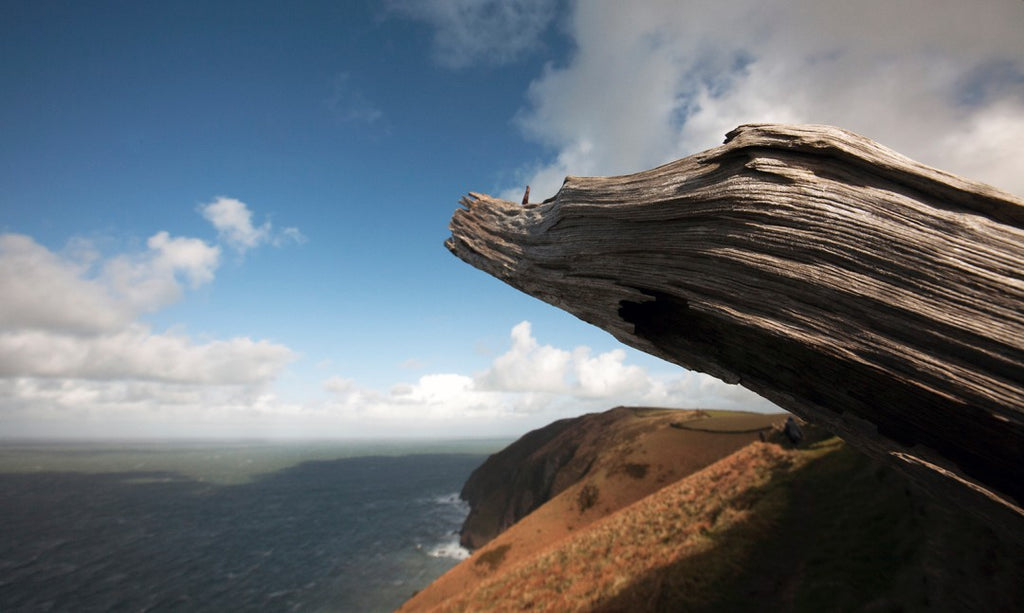 GReat Hangman, cliff, Exmoor Coast, England