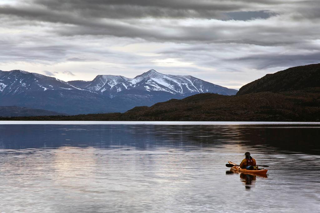 destination, sea kayak, adventure, patagonia, photography