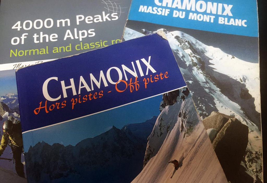 guidebooks, chamonix, skiing, adventure, photography