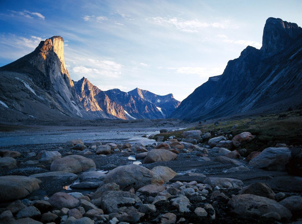 mount thor, weasel valley, baffin island, canada