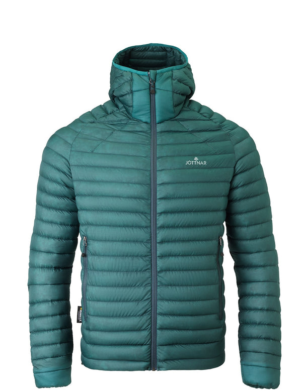 Men's Ocean Green Ultra Lightweight Down Jacket