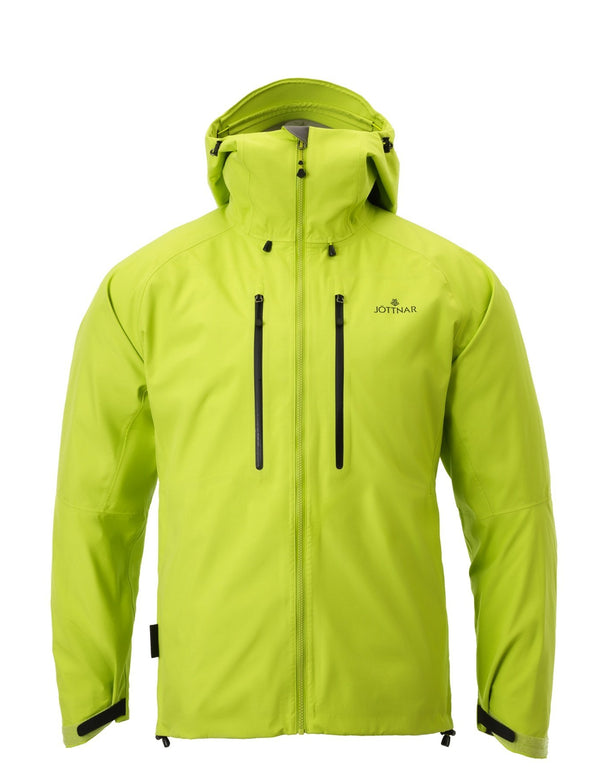 Yellow Hard Shell Jacket