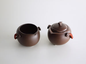 Philosophy Two Rosewood Teaware set