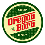 "Oregon Born - ""Shop Only"" Retro Coasters - Oregon Born"
