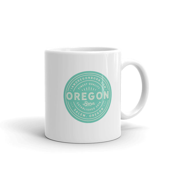 FINEST QUALITY (SEAFOAM) - Mug - Oregon Born