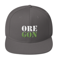 "Oregon Born - ""ORE-GON"" - Snapback Hat - Oregon Born"