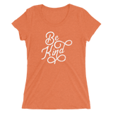 """ Be Kind"" - Ladies' Short Sleeve Tee - Oregon Born"
