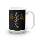 """She Flies With Her Own Wings"" - Mug - Oregon Born"