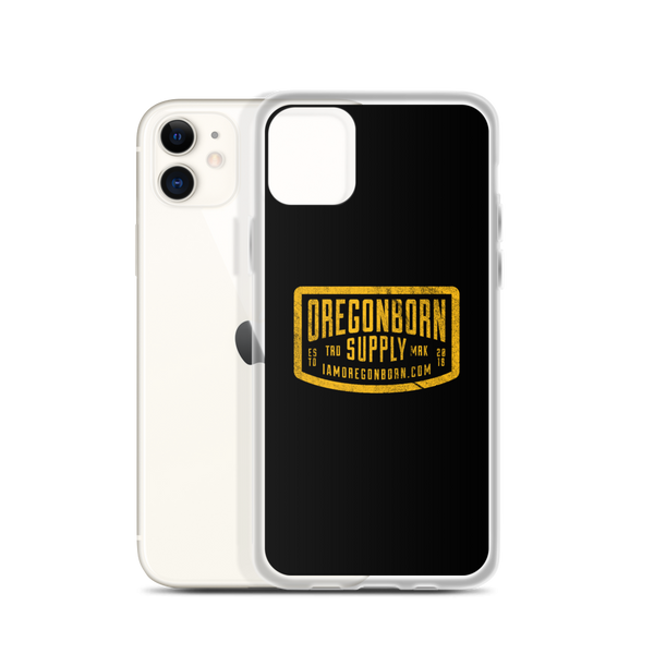 Oregon Born Supply - iPhone Case - Oregon Born