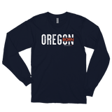 "Oregon Born ""Inset"" - Long Sleeved Tee - Oregon Born"
