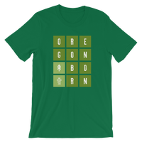 "Oregon Born - ""Tiles"" - Short-Sleeve Unisex Tee - Oregon Born"