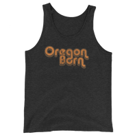 Oregon Born - Retro 2 - Unisex Tank Top - Oregon Born