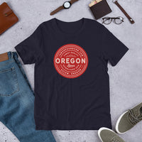 FINEST QUALITY (RED) - Short-Sleeve Unisex T-Shirt - Oregon Born