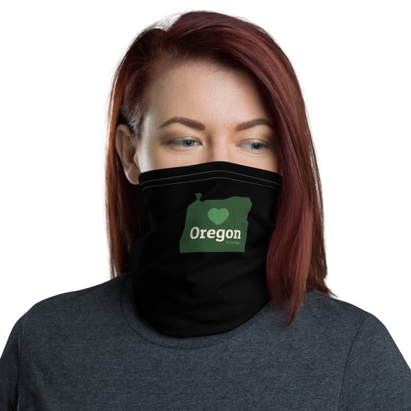 OREGON IS HOME - Neck Gaiter - Oregon Born