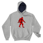 "Bigfoot ""Buffalo Plaid"" - Champion Hoodie - Oregon Born"