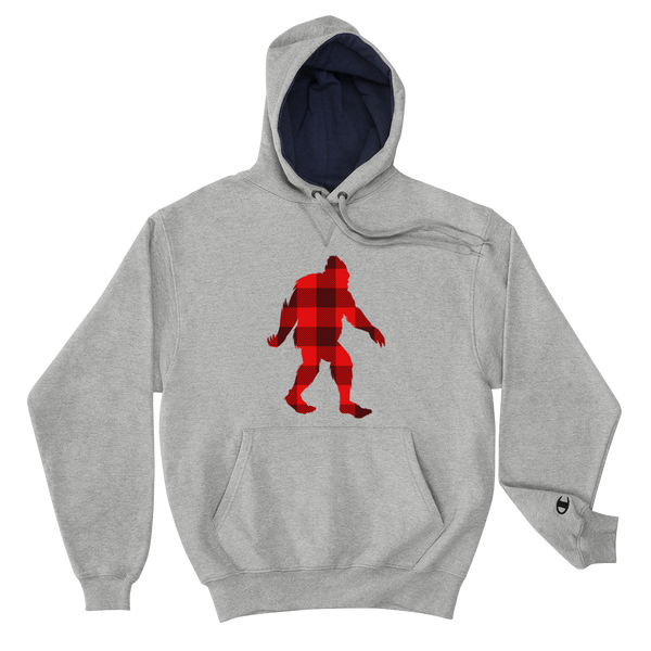 "Bigfoot ""Buffalo Plaid"" - Champion Hoodie"