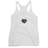 "Oregon ""Heart"" -  Women's Racerback Tank - Oregon Born"