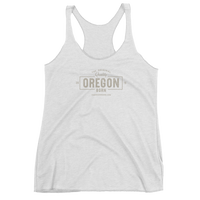 "The Original ""Quality"" Oregon Born - Women's Racerback Tank - Oregon Born"