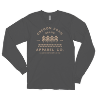 Oregon Born Brand Apparel Co. - Long Sleeve Tee - Oregon Born