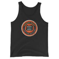 "Oregon ""Born & Bred"" - Unisex Jersey Tank with Tear Away Label - Oregon Born"