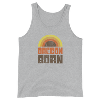 Oregon Born - Retro 1 - Unisex Tank Top - Oregon Born